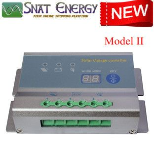 Solar Charge Controllers (with Automatic Voltage Recognition)