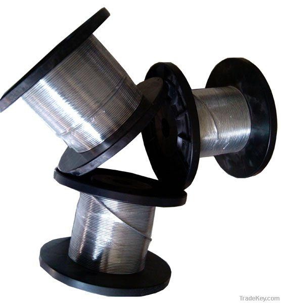 Environmental automatic seamless copper-aluminum brazing filler metal