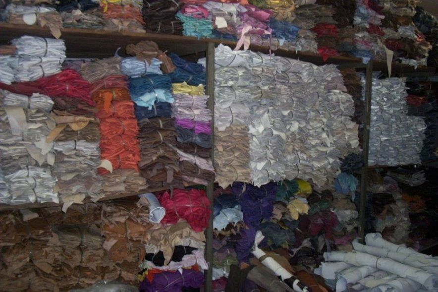 Genuine Leather Scrap all Kinds Mixed