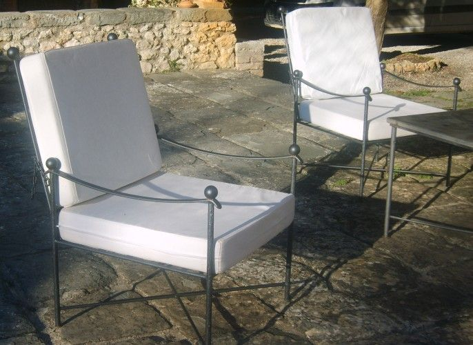 High-End Ferrobattuto Outdoor furniture