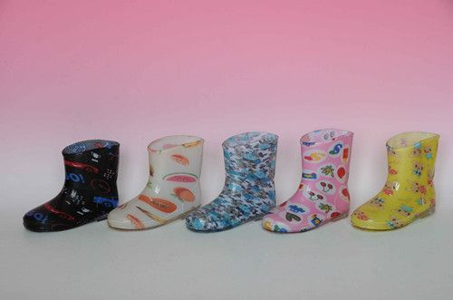 children PVC shoes
