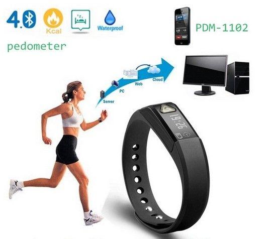 Wireless Wristband Bluetooth Pedometer