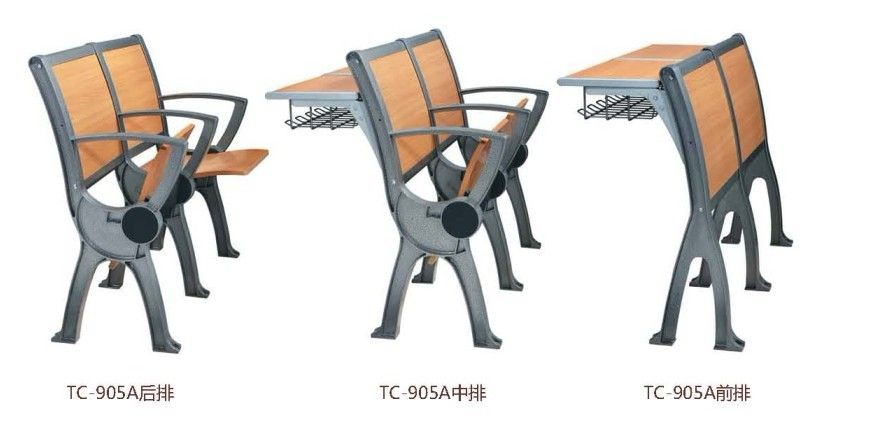 School furniture, classroom furniture, student furniture, desk and chair