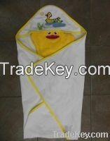 Terry Hooded Blanket