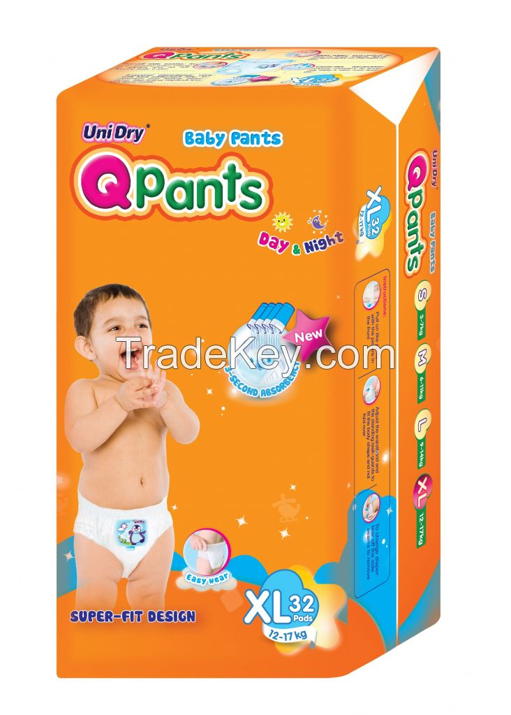 UNIDRY QPANTS MADE IN VIETNAM PULP USA SAP JAPAN INDIA VERSION