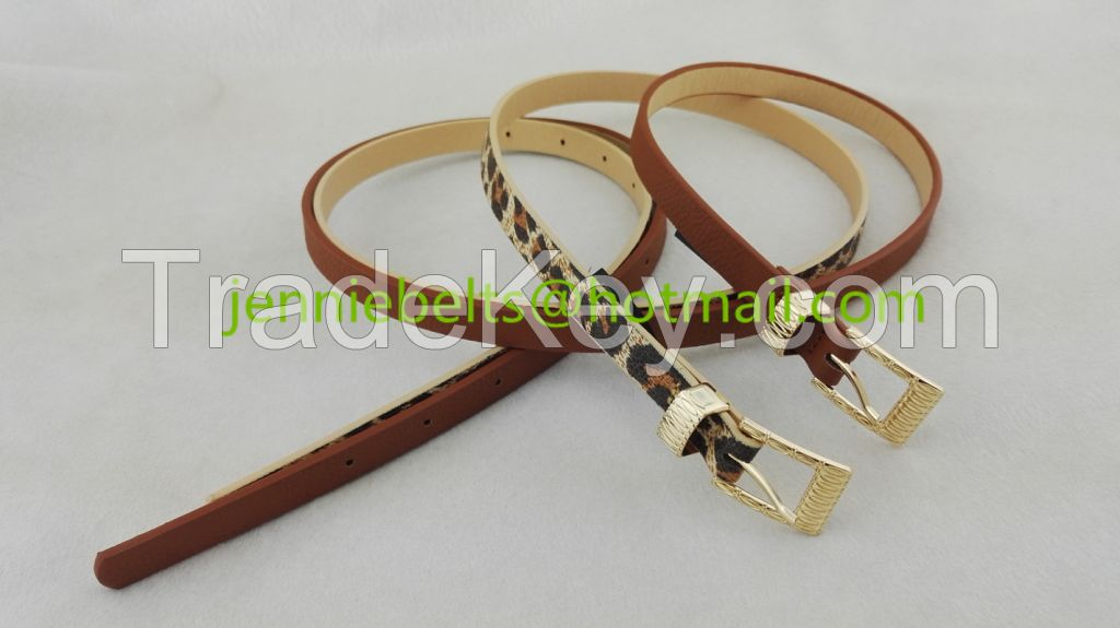 2015 Fashion Skinny Belt For Women Jeans Or Dress