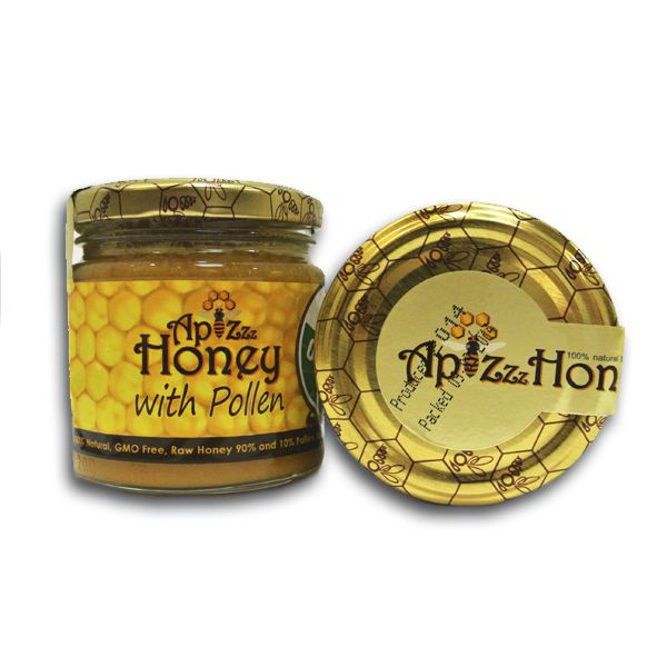100% Natural Organic Raw Pollen Honey