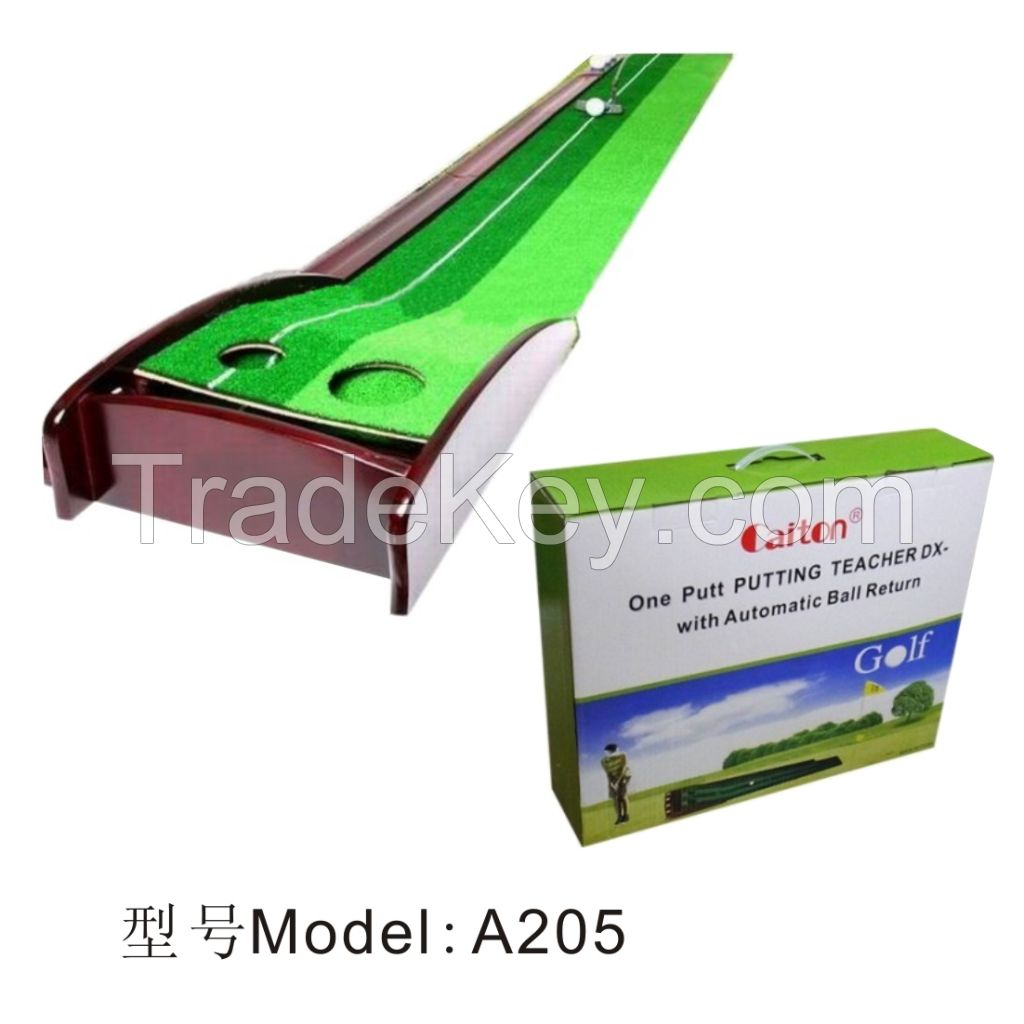 2014 hot sell golf mat putting green putting mat A205
