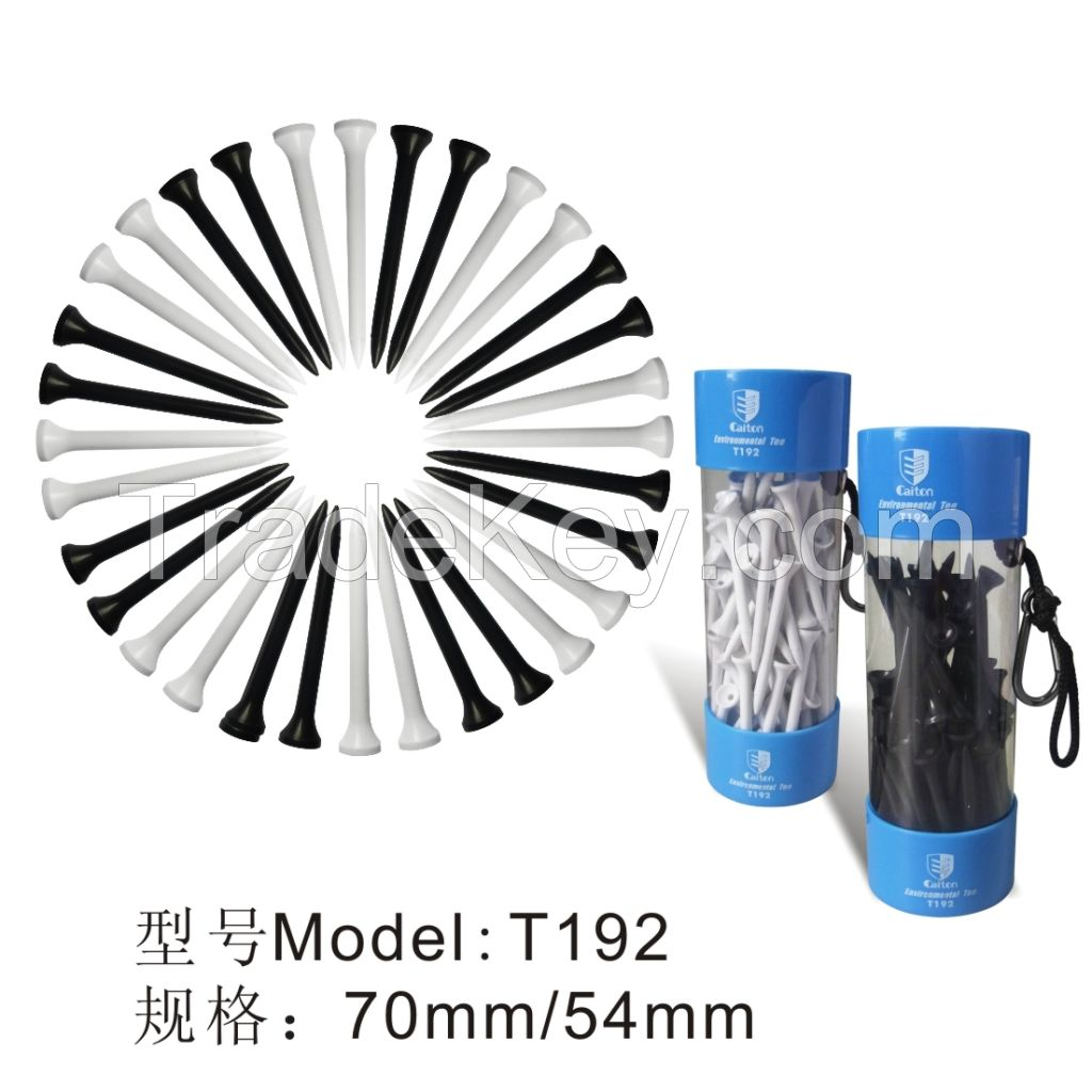 golf tee golf cornstarch tee biodegrade golf tee T192