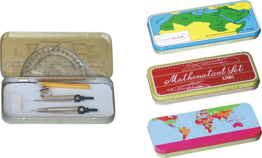 tin box math set