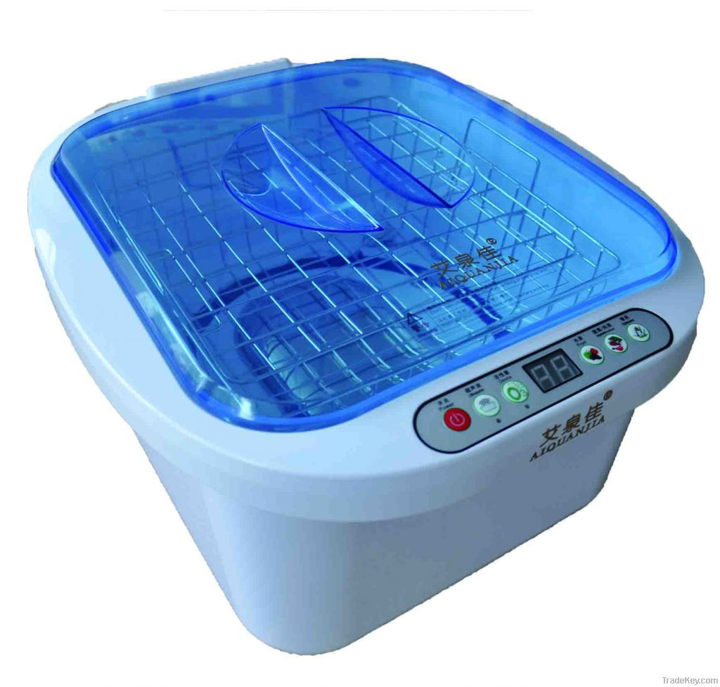 digital ozone ultrasonic food and vegetable cleaner