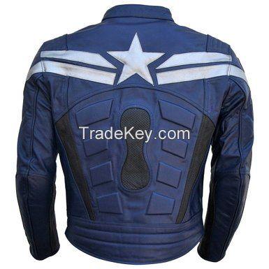 Moter Bike Leather Jacket
