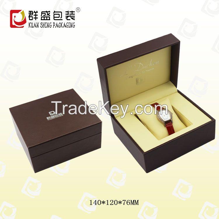 Leather watch box