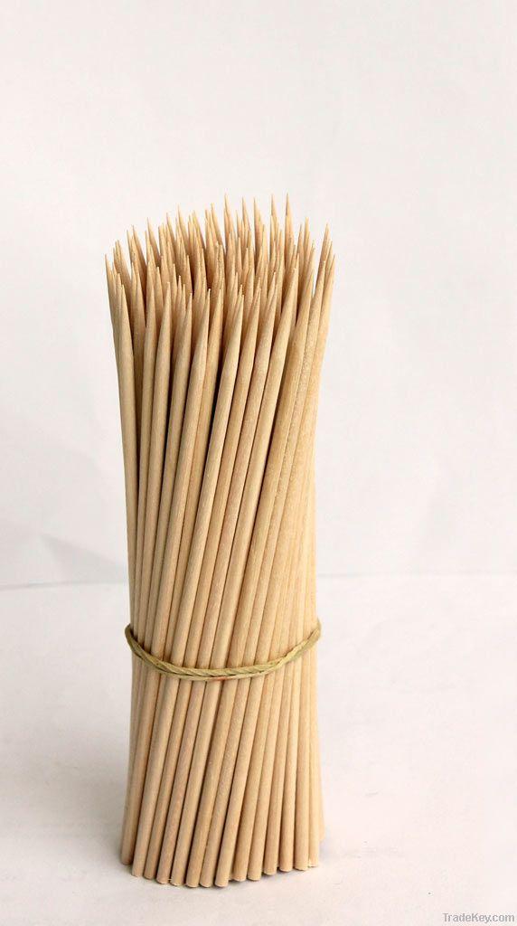 Natural Birch Wood Food Skewers