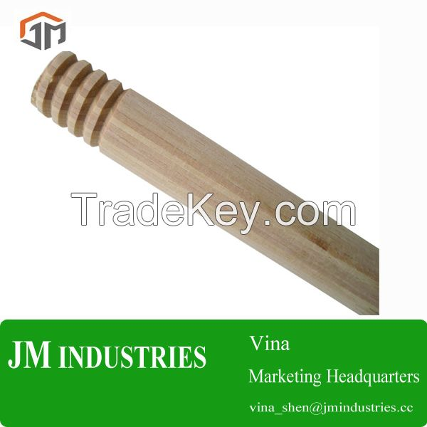 wooden mop handles, wooden broom handles, wood handles, wooden cleaning tool handles