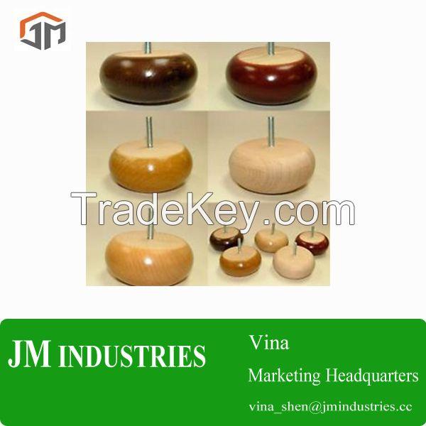wooden furniture legs, wood legs/feet, wooden quuen anne legs, wooden bun feet, wooden table legs