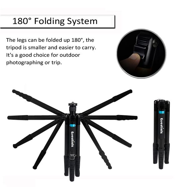 Professional carbon fiber tripod for digital camera,from Shenzhen China