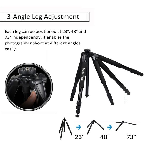 Professional Video Tripod T-283AS With Ball Head PD36