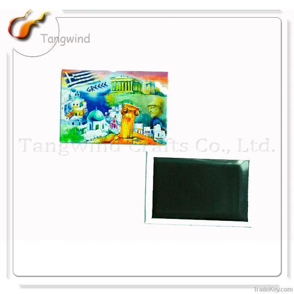 Custom Tin Fridge Magnet