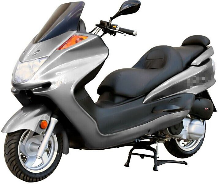 250cc Gas Motor Moped  Scooters Deluxe Style