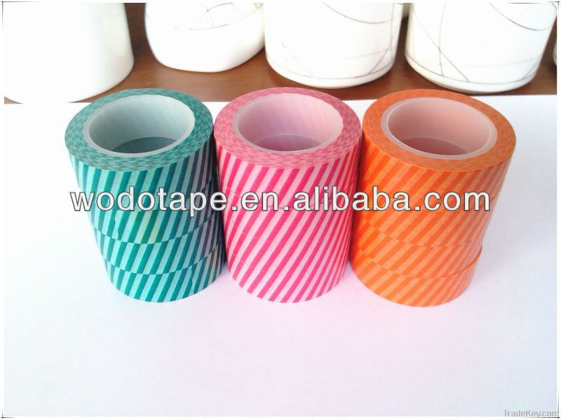 Japanese washi tape, solid color washi tape , washi tapes