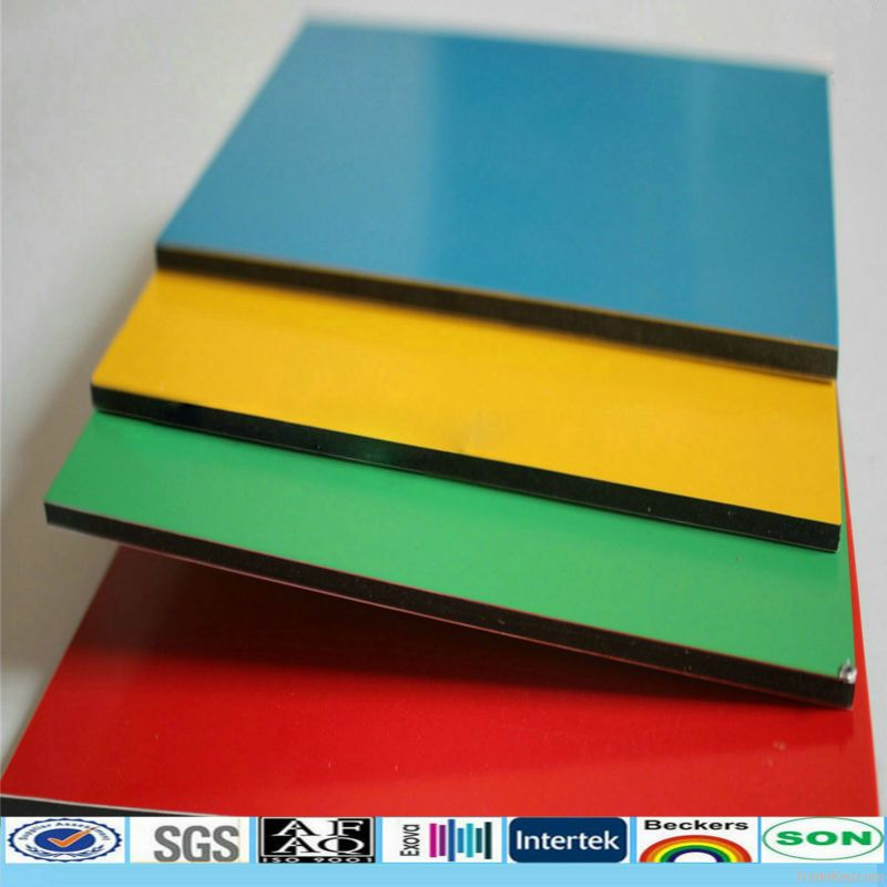 PE Aluminum Composite Panels for interior wall ceiling decoration