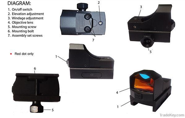 LionRead Reflex Digital Switch Mini Dot Sight
