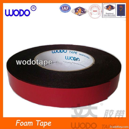 Double sided foam tape with strong adhesive