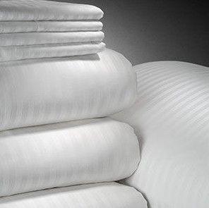 Cotton Plain White Hotel Bedding Linens