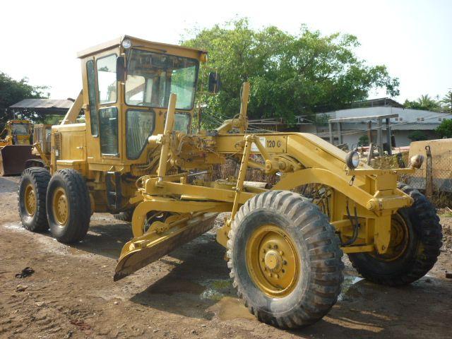 Used Caterpillar Road Grader CAT120G