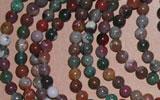 semi precious stone bead