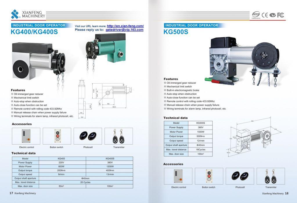Automatic Industry Door Operator