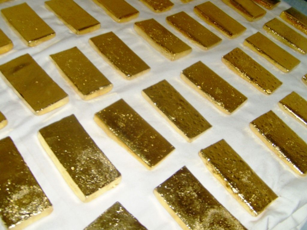 Gold Dust, Gold Nuggets, Gold Bars