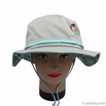 Women's Fashion bucket Hat, Made of Polyester