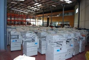 Used copiers. In perfect working conditions.