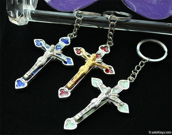 Metal Religious Keychain(MX092)