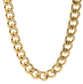 Gold Plated Miami Cuban link Chains