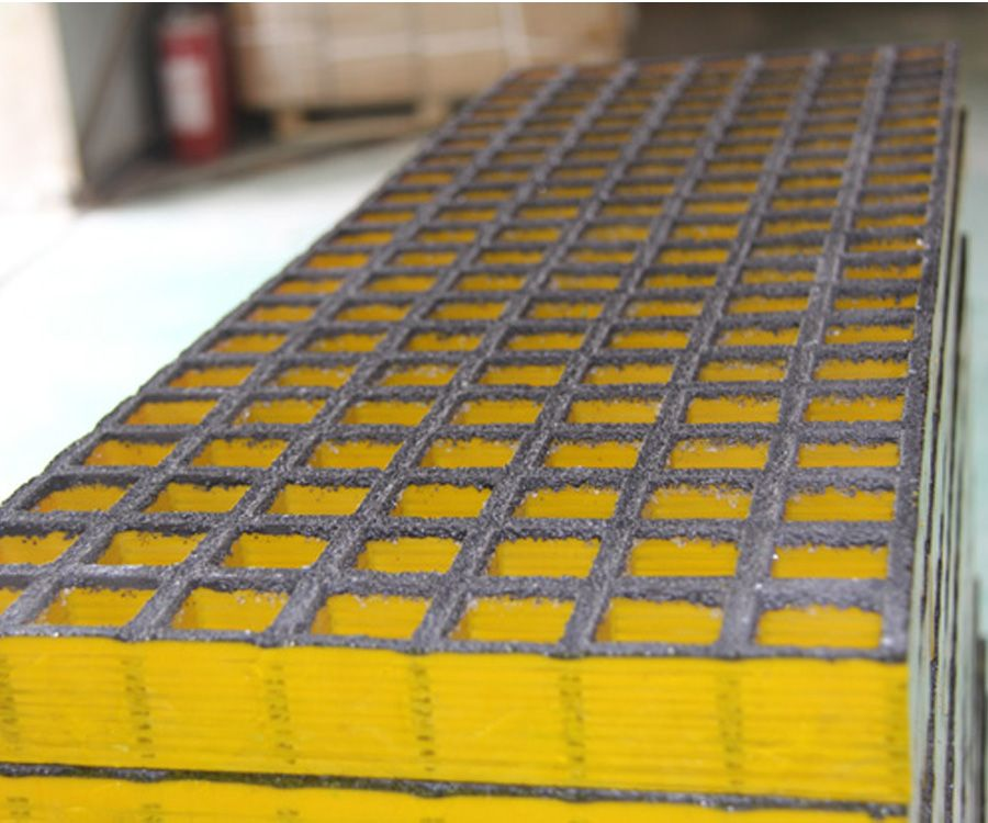 Anti corrosion and various colour fiberglass molded grating