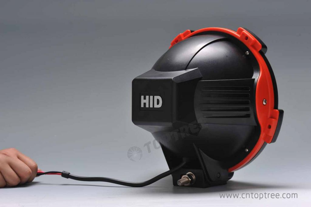 Factory price saving 20% 100w HID off road light 9'' Spot flood 12V 24V xenon hid driving light 35w 55w 75w