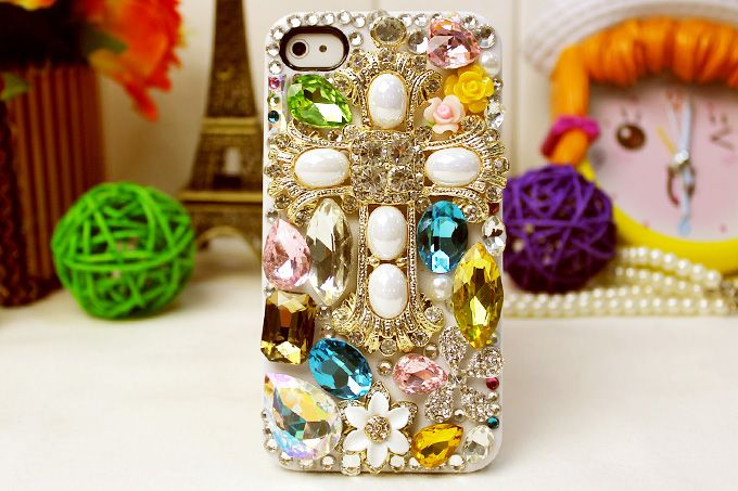 Luxury crystal diamond case for iPhone 5
