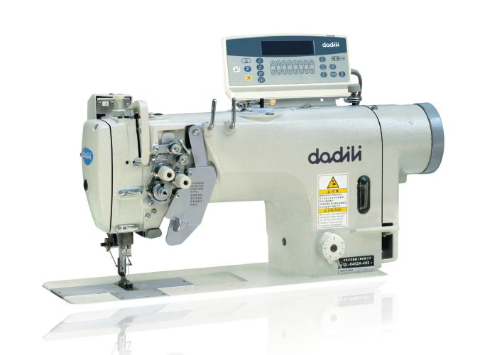 Double needle direct driven automatic thread trimmer sewing machine DL-8752A