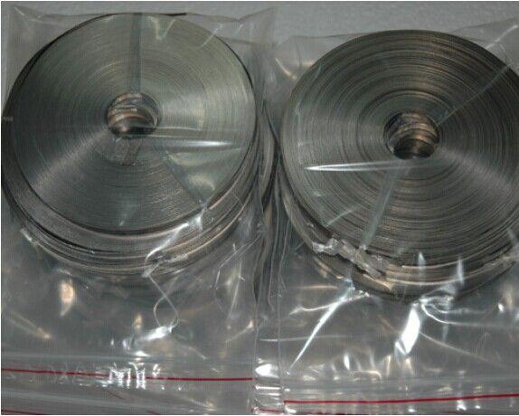 0.003mm Gr1 titanium foil ,titanium strip with Certificate