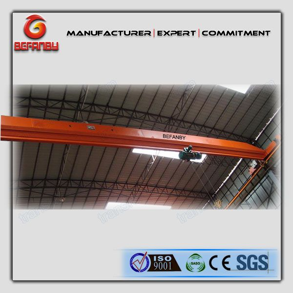 LX type Under running Single girder overhead traveling crane
