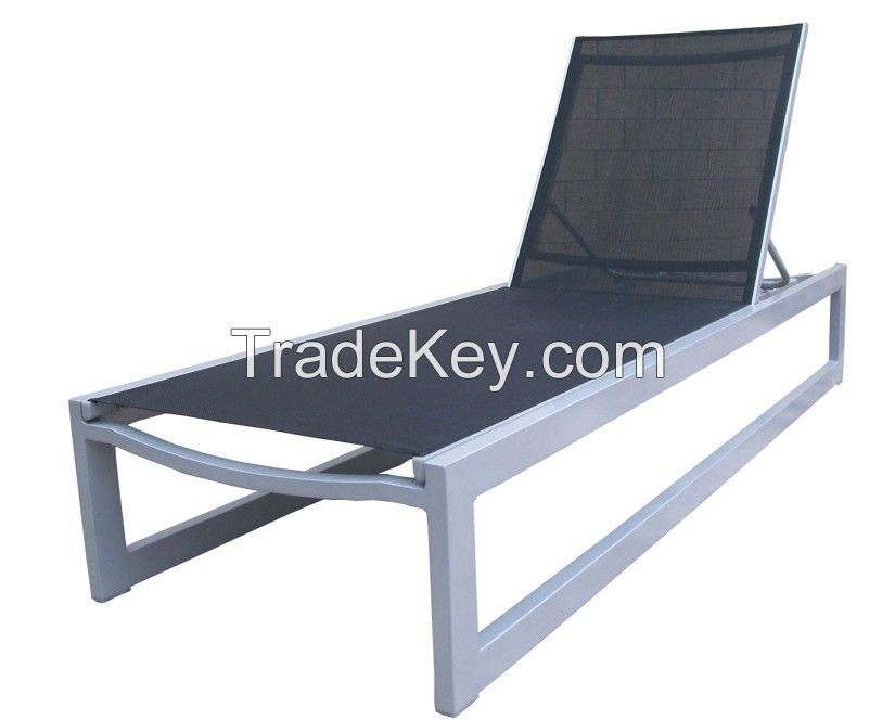 metal furniture outdoor lounger chaise