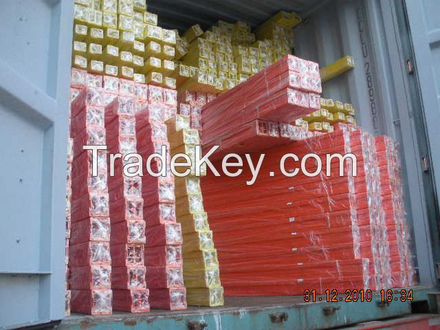 Fiberglass ladder rail