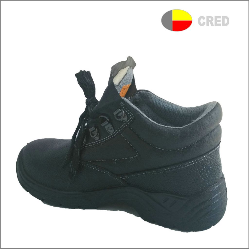 T066 steel toe industrial safety shoes