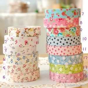Cotton adhesive fabric tape, fabric tape wholesale
