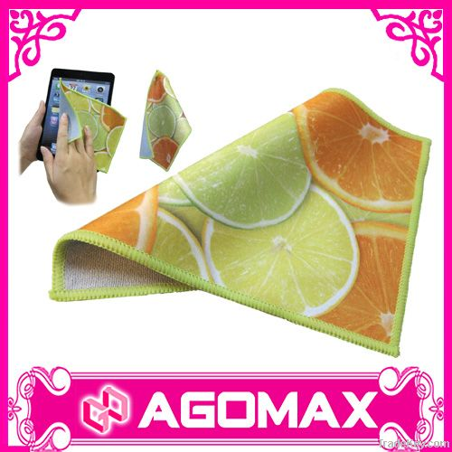 Promotional Double Sided microfiber towel cloth