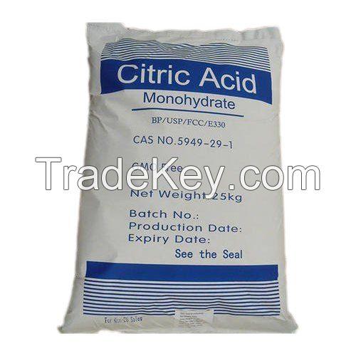 Citric Acid Monohydrate,citric acid anhydrous,Aspartame