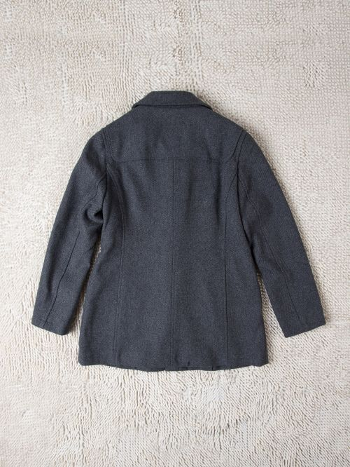 ladies' Horn button wool coat factory direct sell ODM/OEM service